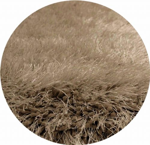 Mink Colour Thick Super Soft Fluffy Deep Pile Luxury Plain Stylish Modern Shaggy Rugs